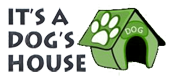 It's A Dog's House - Logo